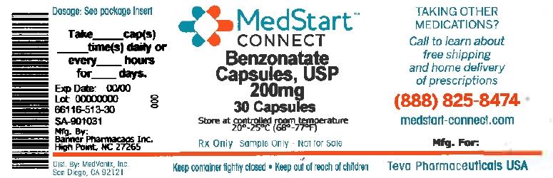 Benzonatate Capsule [Medvantx, Inc.]