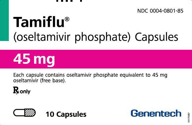 PRINCIPAL DISPLAY PANEL - 45 mg Capsule Blister Pack Carton