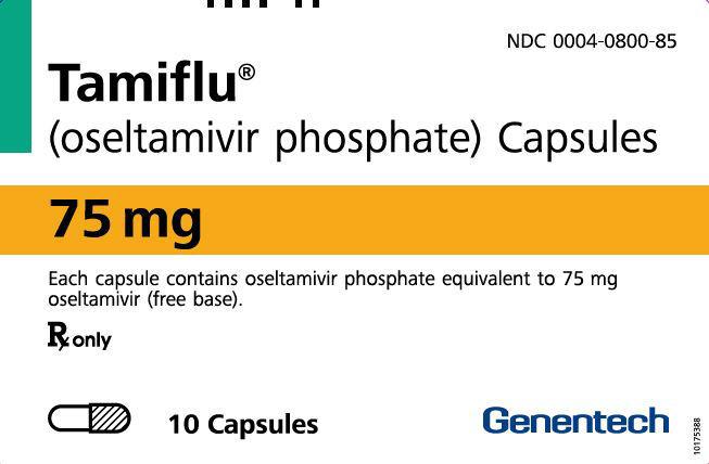 PRINCIPAL DISPLAY PANEL - 75 mg Capsule Blister Pack Carton