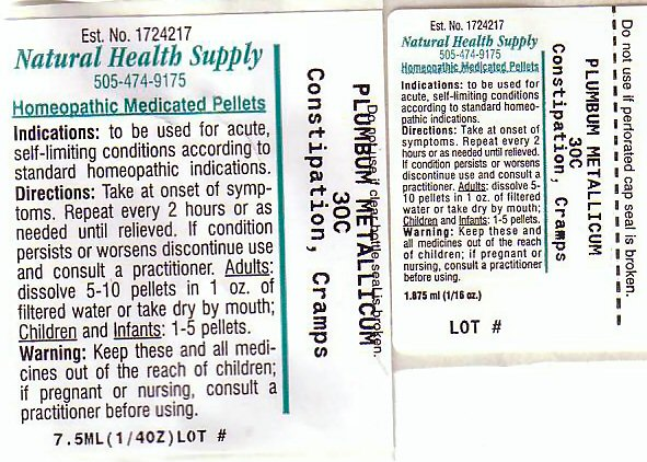 Constipation Cramps (Lead) Pellet [Natural Health Supply]