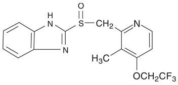 Lansoprazole Structural Formula