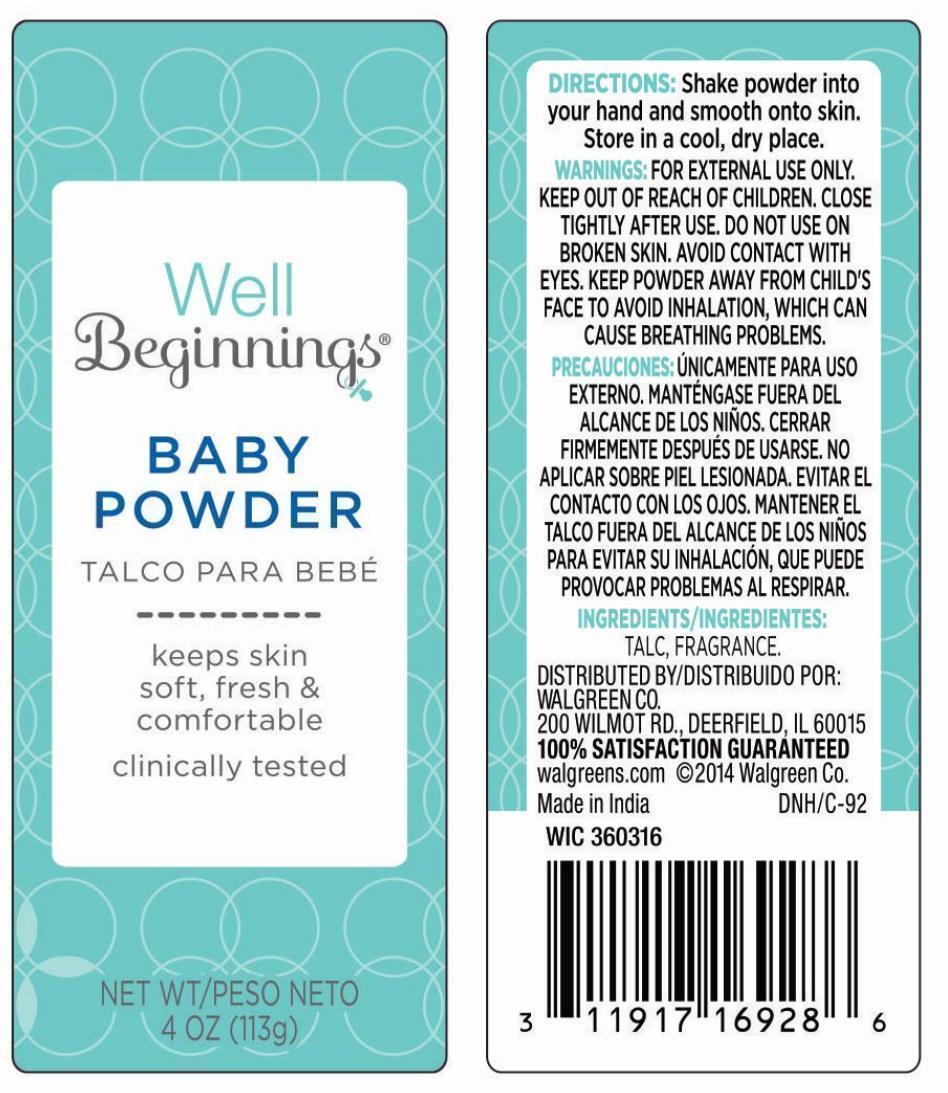 Baby (Talc) Powder [Walgreen Company]