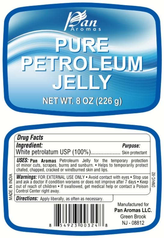 Pure Petroleum (White Petroleum) Jelly [Pan Aromas Llc]