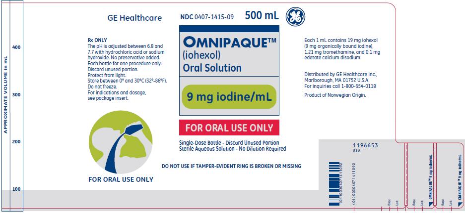 PRINCIPAL DISPLAY PANEL - 350 mgI/mL Bottle Label