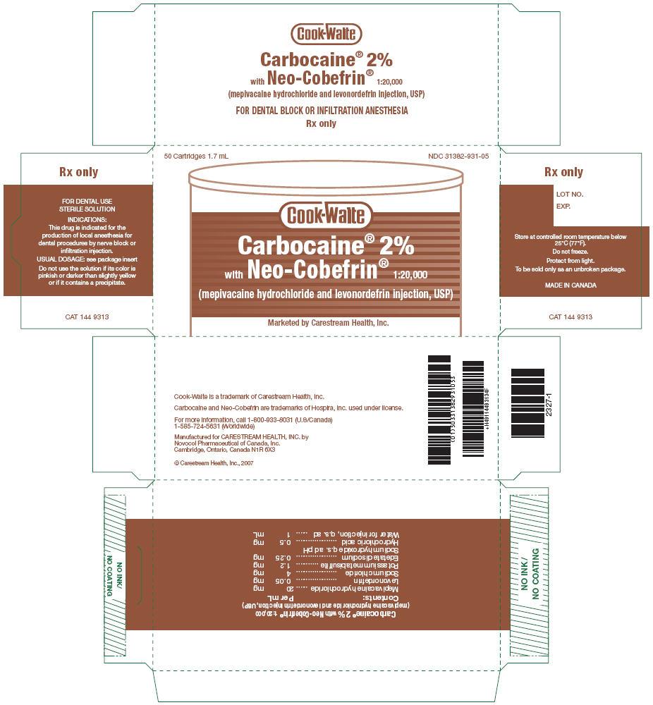 PRINCIPAL DISPLAY PANEL - 2% Cartridge Carton