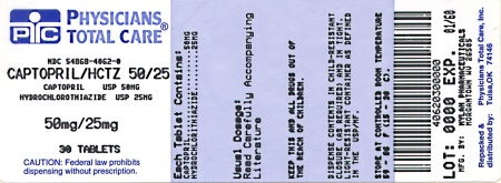 image of 50 mg/25 mg package label