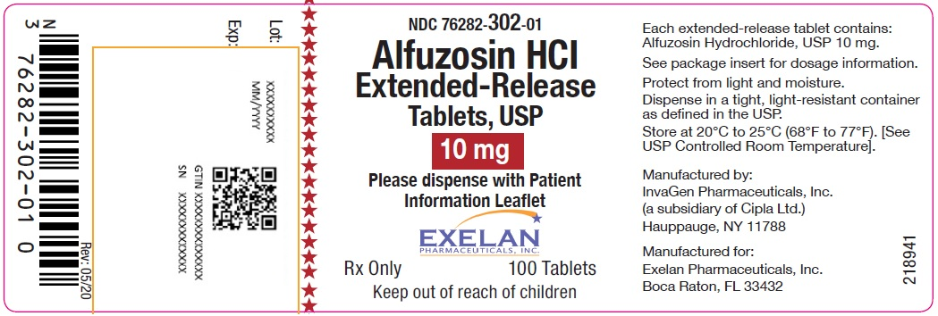 Alfuzosin Hydrochloride (Alfuzosin Hydrochloride ) Tablet, Extended Release [Exelan Pharmaceuticals Inc.]