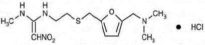 Structural Formula Ranitidine150