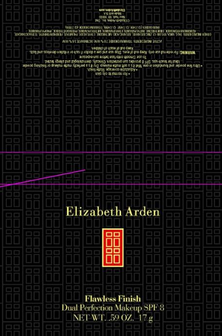 Flawless Finish Dual Perfection Makeup Spf 8 Honey (Titanium Dioxide) Powder [Elizabeth Arden, Inc]
