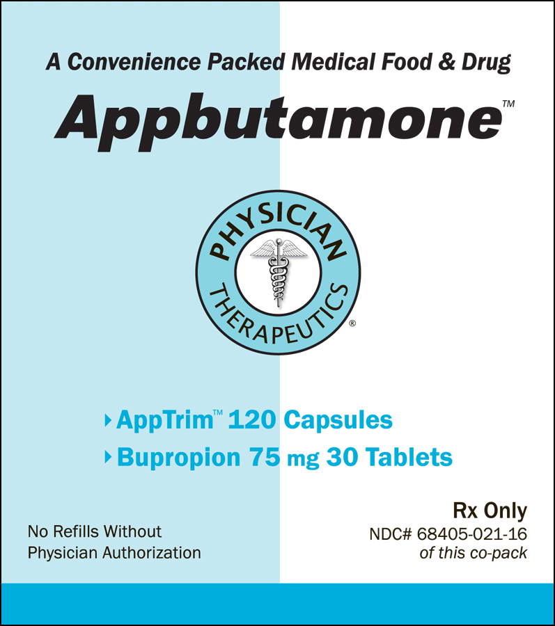Appbutamone (Bupropion Hydrochloride, Tyrosine) Kit [Physician Therapeutics Llc]