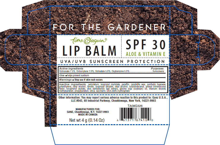 For The Gardener Lip Balm (Octinoxate, Octocrylene, Octisalate, And Oxybenzone) Stick [Ganz U.s.a., Llc]