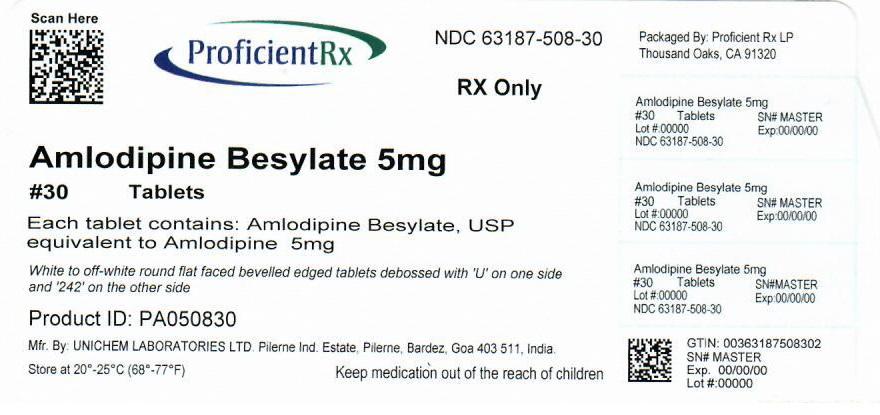 Amlodipine Besylate Tablet [Proficient Rx Lp]