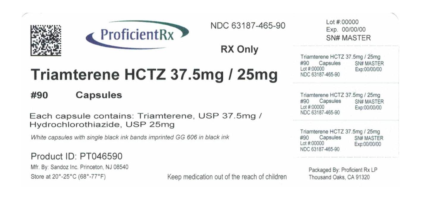 Triamterene And Hydrochlorothiazide Capsule [Proficient Rx Lp]