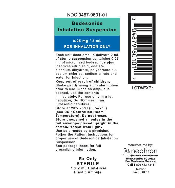 Budesonide Inhalant [Nephron Pharmaceuticals Corporation]