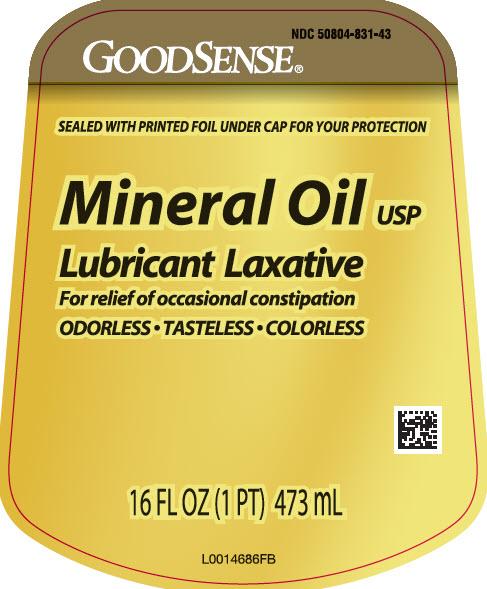 Mineral Oil Liquid [Geiss, Destin & Dunn, Inc]