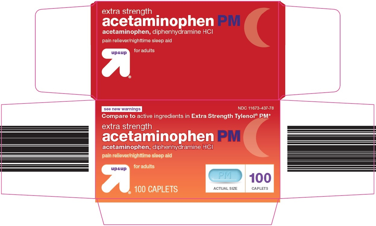 Up and Up Acetaminophen PM Image 1