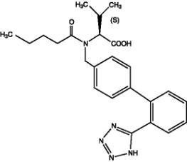 valsartan chemical structure