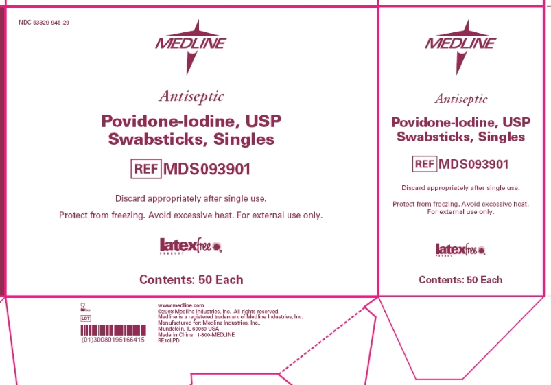 Povidone-iodine Swabsticks Singles (Povidone-iodine) Swab Povidone-iodine Swabsticks Triples (Povidone-iodine) Swab Povidone-iodine Prep Pads Medium (Povidone-iodine) Swab Povidone-iodine Prep Pads Medium Bulk (Povidone-iodine) Swab Povidone-iodine Topical Antiseptic (Povidone-iodine) Solution Prep Solution Topical Antiseptic (Povidone-iodine) Solution Prep Solution With Spray Bottle (Povidone-iodine) Solution [Medline Industries, Inc.]