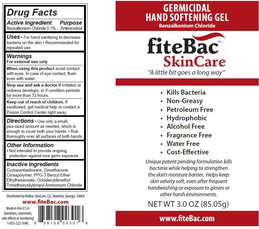 Fitebac Skincare Germicidal Hand Softening (Benzalkonium Chloride) Gel [Fitebac Skincare, Llc]