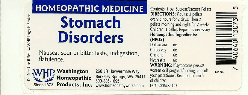 Stomach Disorders (Solanum Dulcamara Top – Activated Charcoal – Chelone Glabra – Goldenseal) Pellet [Washington Homeopathic Products]