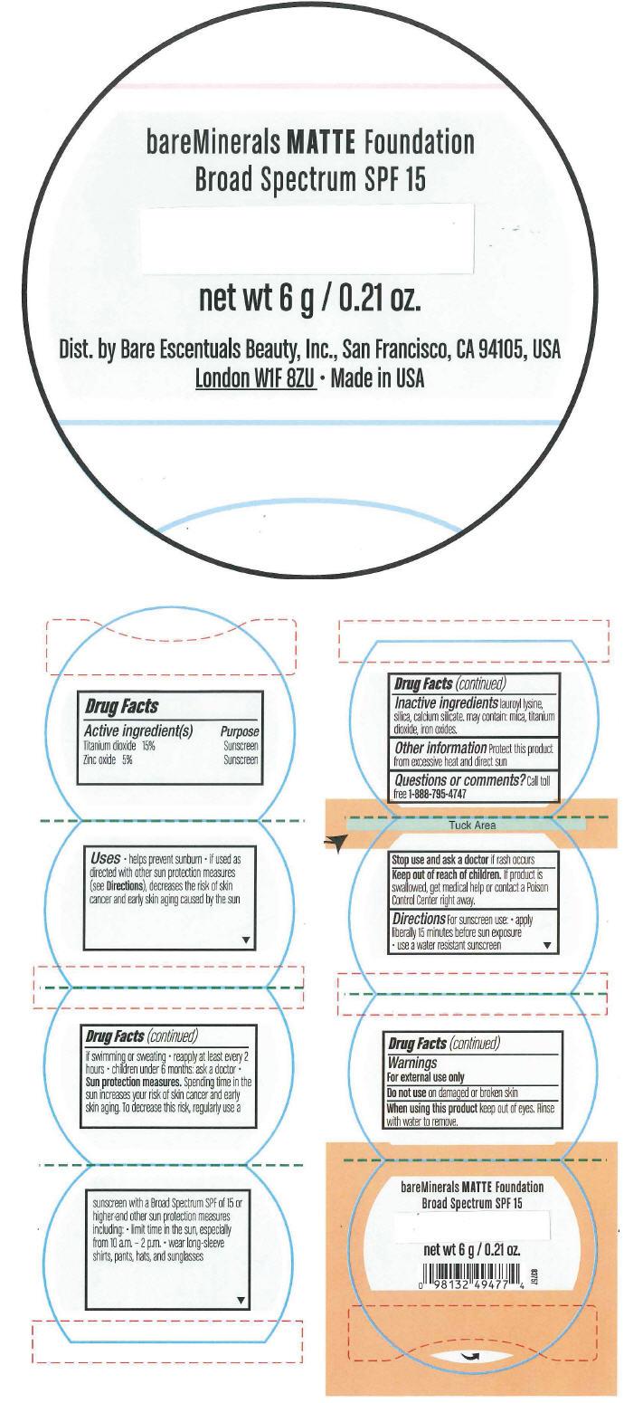 Principal Display Panel - 6 g Jar Label - Neutral Tan