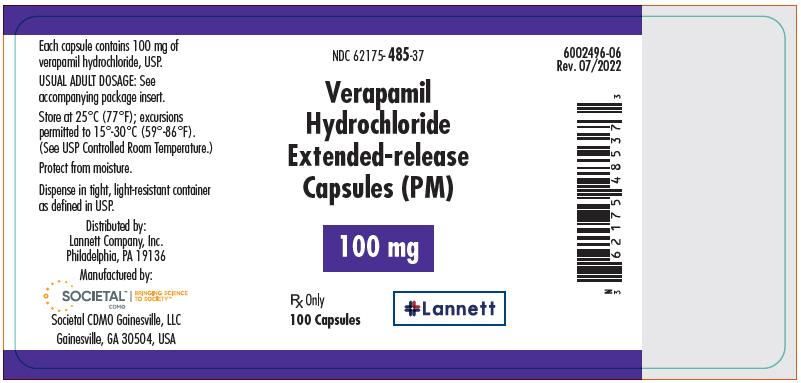 PRINCIPAL DISPLAY PANEL - 100 mg Capsule Bottle Label