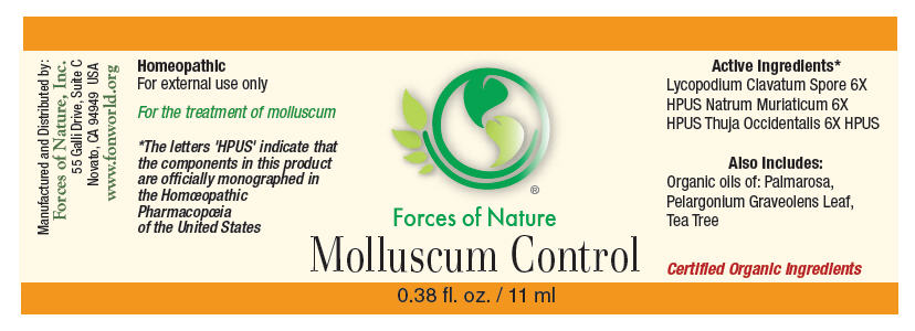 Molluscum Control (Lycopodium Clavatum Spore, Sodium Chloride, And Thuja Occidentalis Leafy Twig) Solution/ Drops [Forces Of Nature]