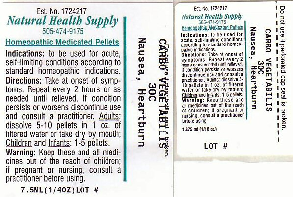 Nhs Nausea Heartburn (Nausea Heartburn) Pellet [Natural Health Supply]