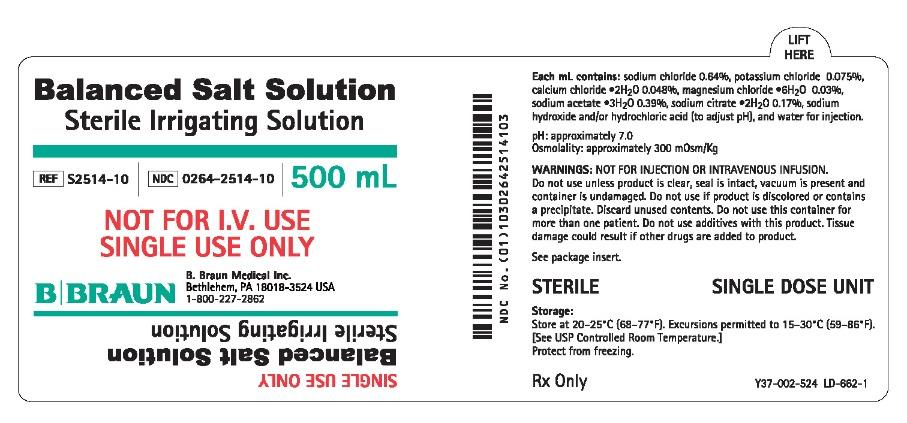 PRINCIPAL DISPLAY PANEL - 500 mL Label