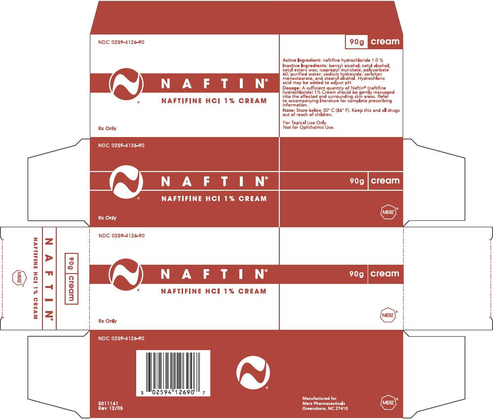 Naftin (Naftifine Hydrochloride) Cream [Merz Pharmaceuticals, Llc]