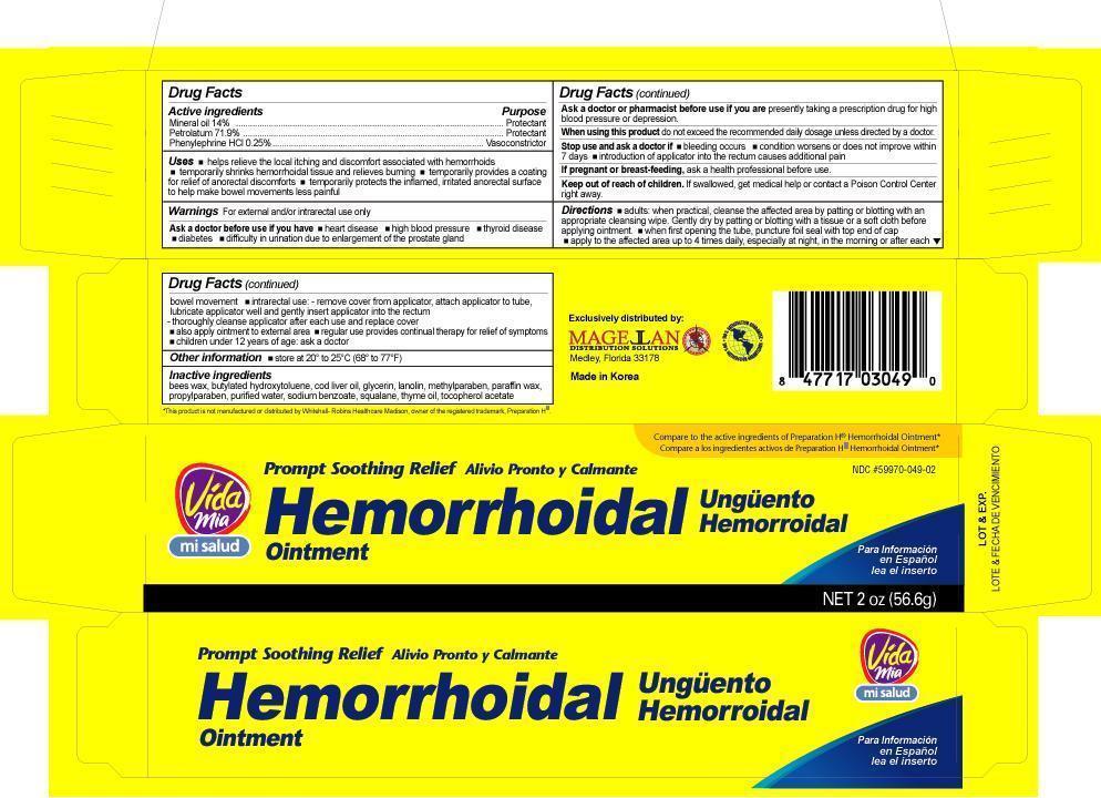 Hemorrhoidal (Mineral Oil,petrolatum,phenylephrine) Ointment [Navarro Discount Pharmacies,llc]
