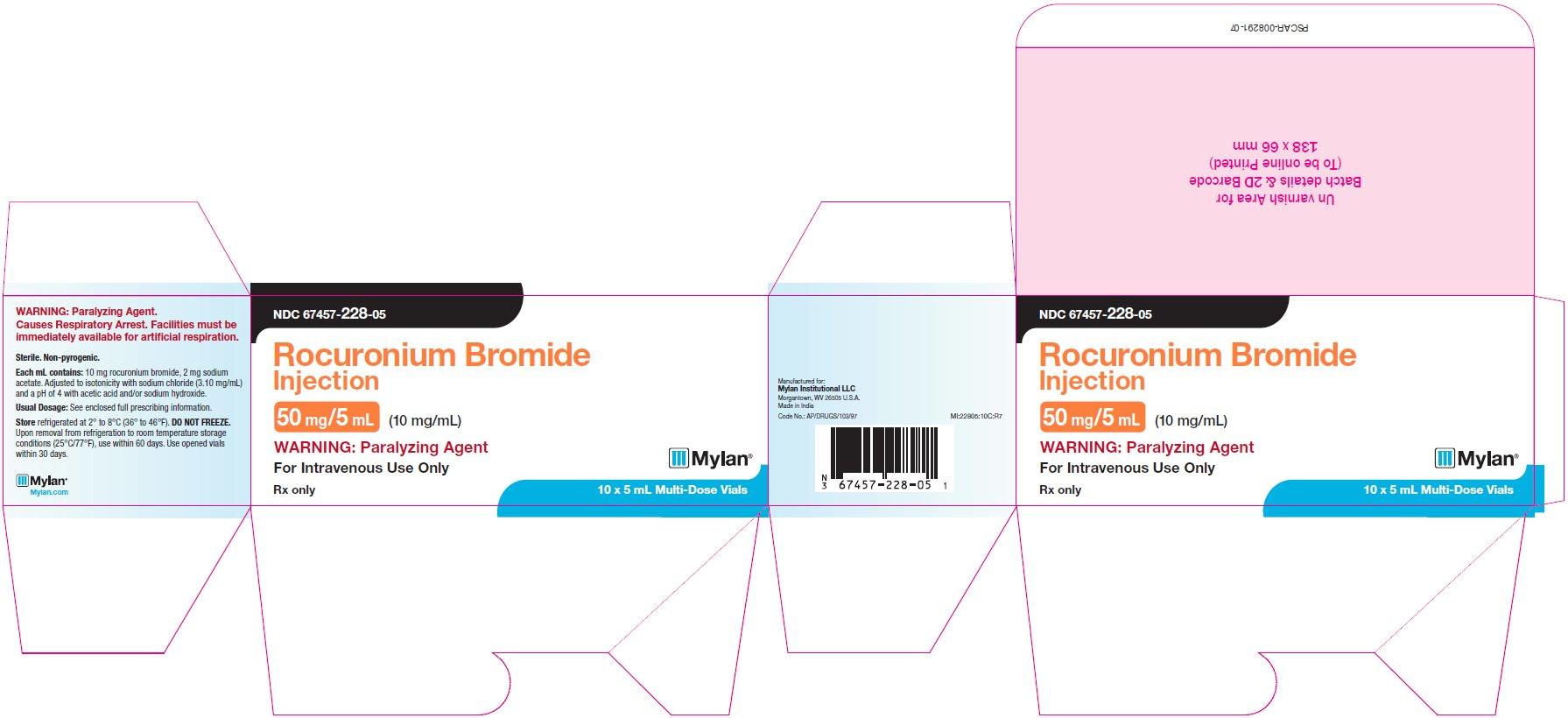 Rocuronium Bromide Injection [Mylan Institutional Llc]