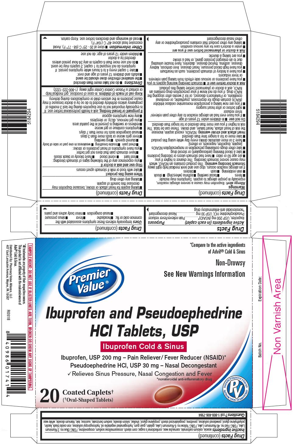 PRINCIPAL DISPLAY PANEL - 200 mg/30 mg Blister Pack Carton