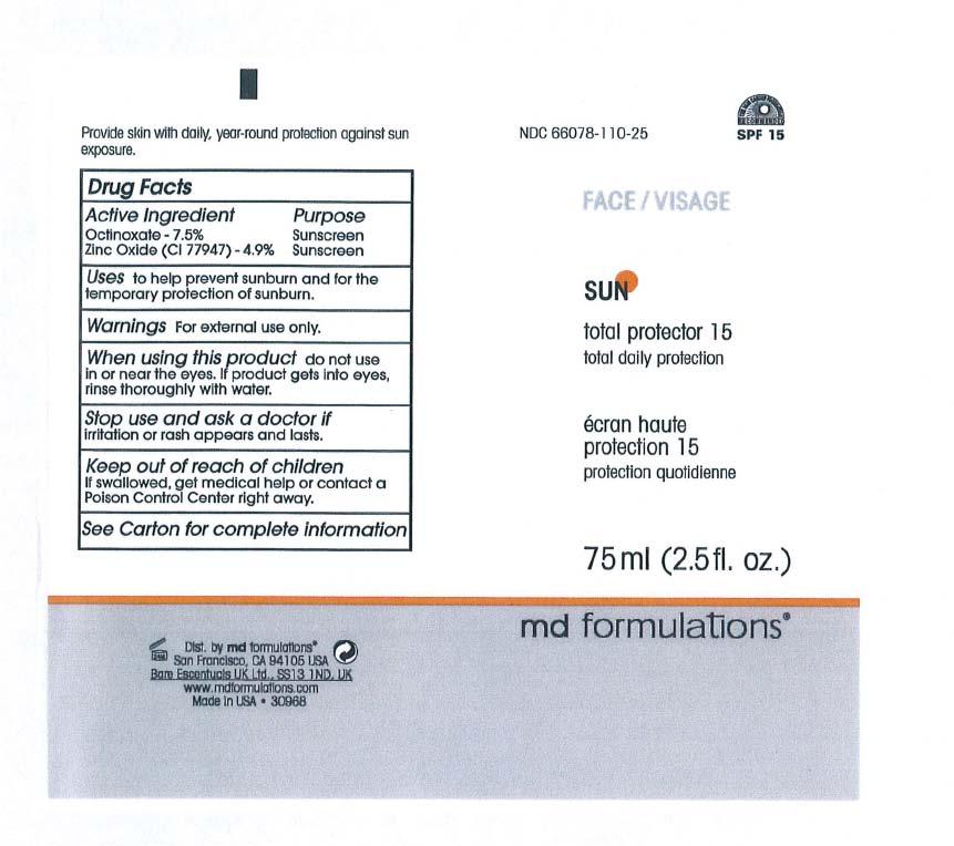 Total Protrector 15 (Octinoxate, Zinc Oxide) Cream [Md Formulation]