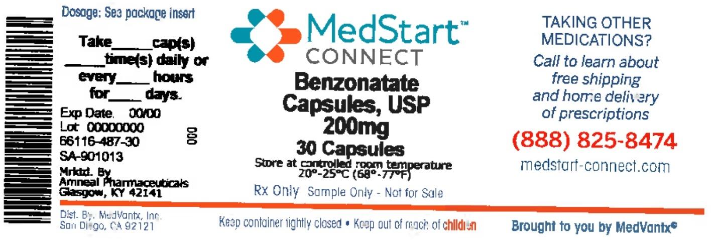 Benzonatate Capsule, Liquid Filled [Medvantx, Inc.]