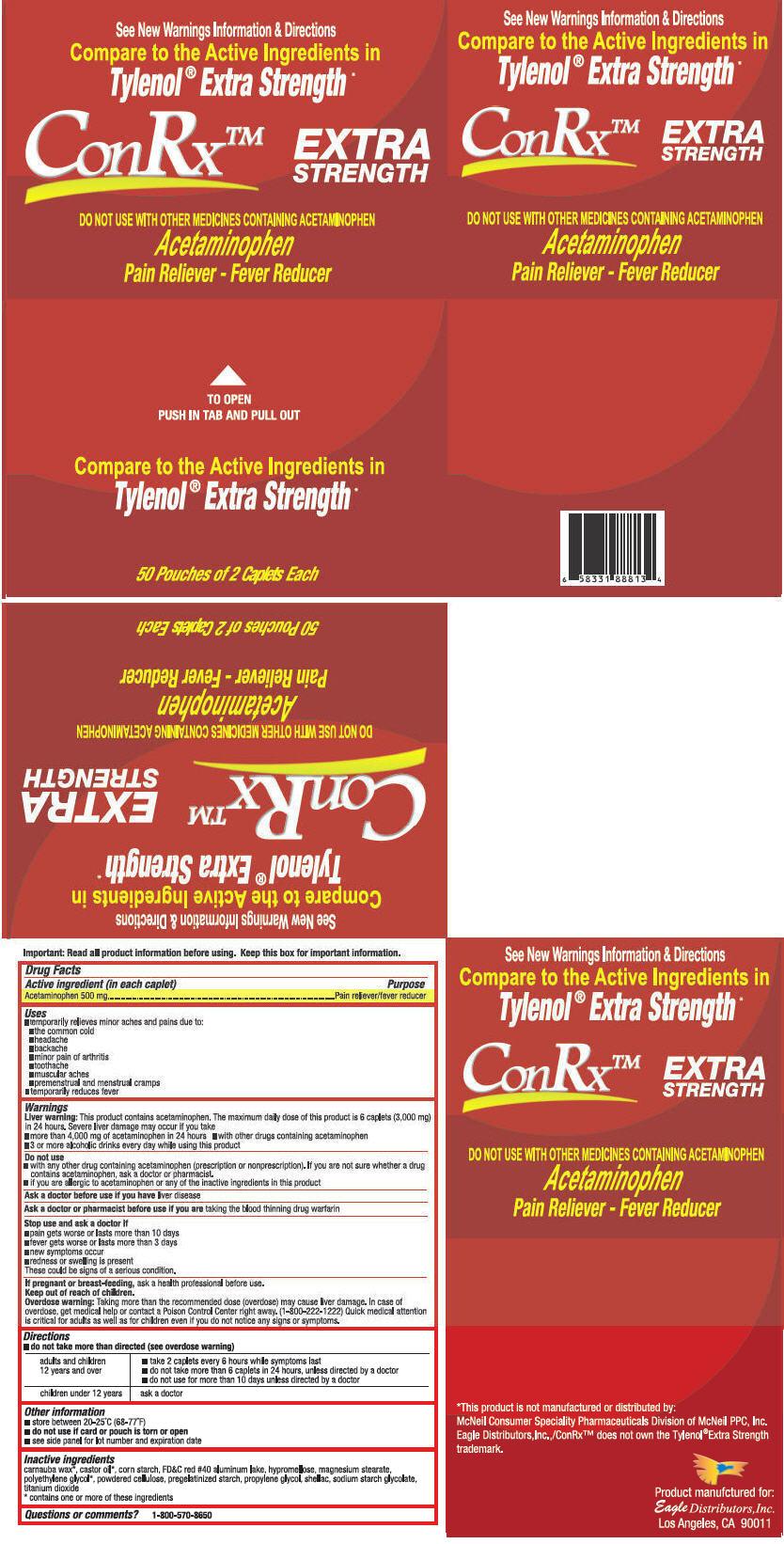 Conrx Extra Strength (Acetaminophen) Tablet [Eagle Distributors,inc.]