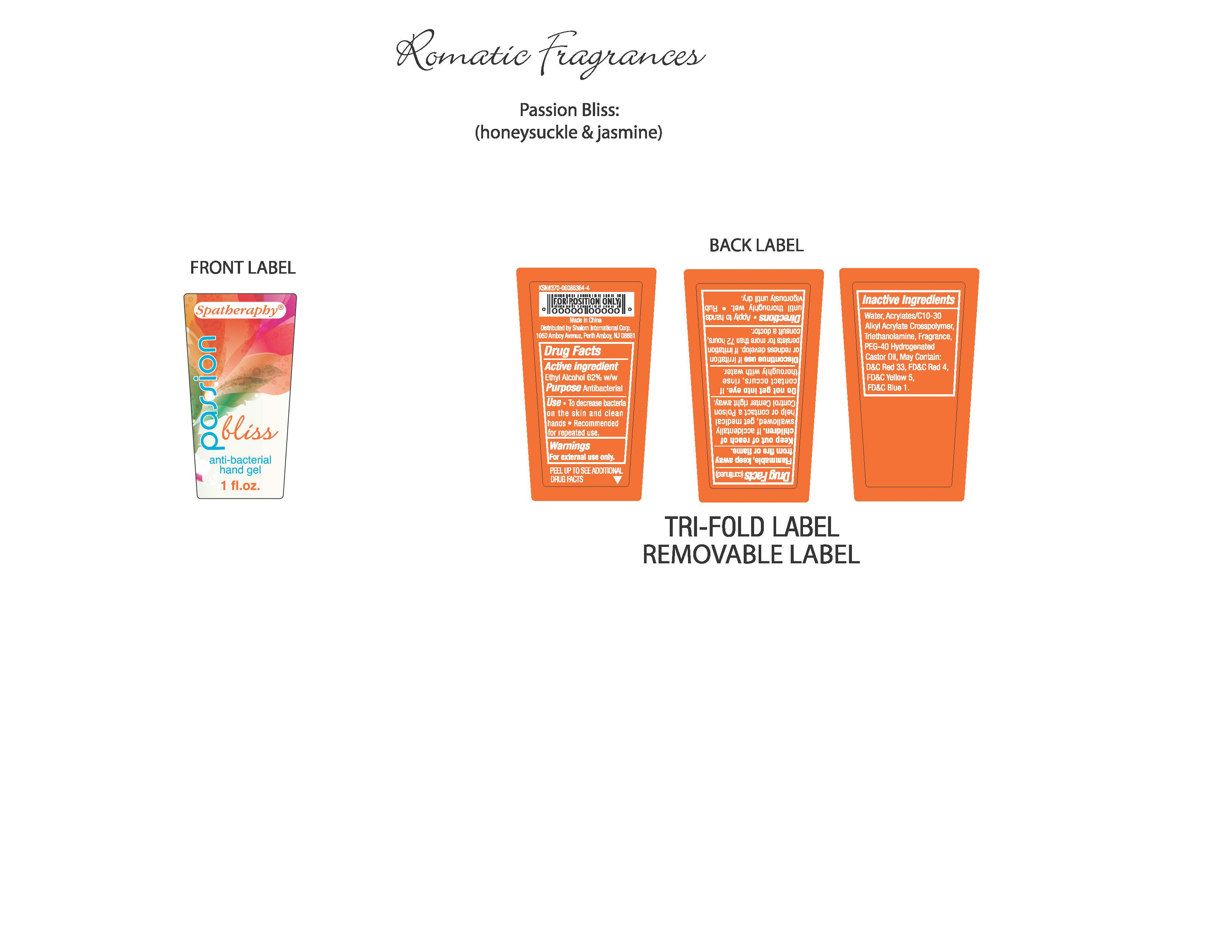 Spatheraphy (Alcohol) Lotion [Xiamen Olivee Daily Use Chemical Co., Ltd.]