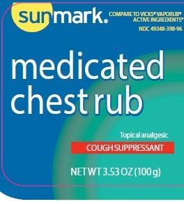 Chest Rub (Camphor, Eucalyptus Oil, Menthol) Jelly [Mckesson]
