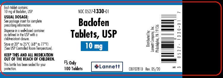 20 mg bottle label