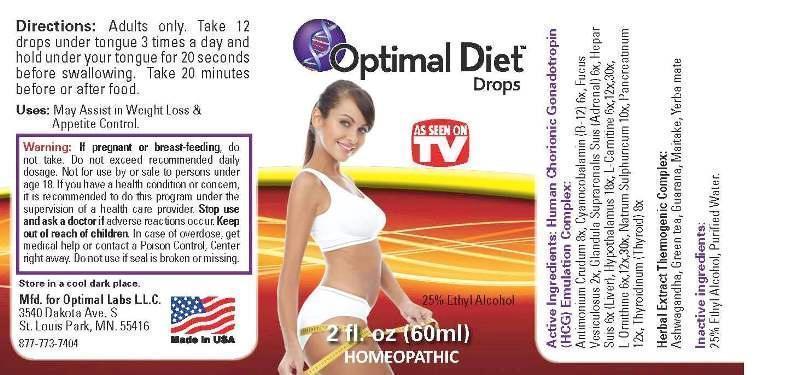 Optimal Diet Drops