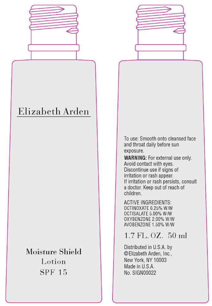 Elizabeth Arden Moisture Shield Spf 15 (Octinoxate) Lotion [Elizabeth Arden, Inc]