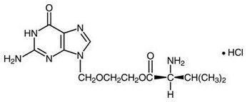 valacyclovir hydrochloride chemical structure