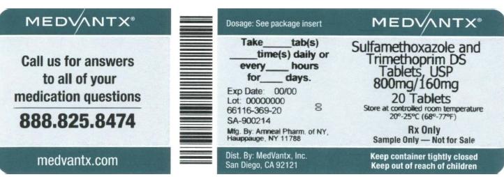 Sulfamethoxazole And Trimethoprim Tablet [Medvantx, Inc.]
