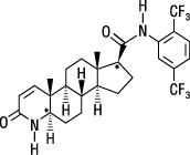 dutasteride structural formula