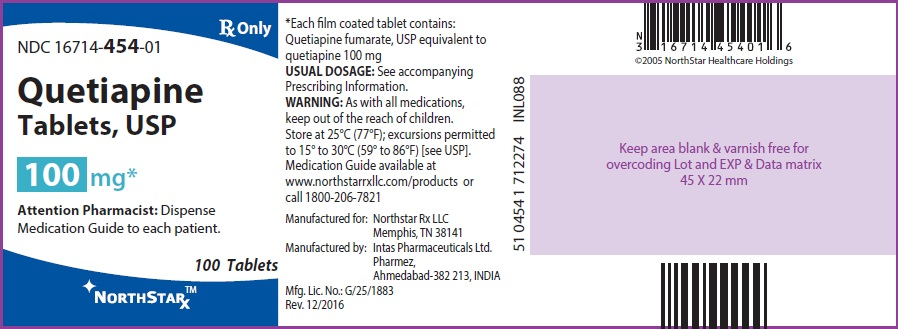 Quetiapine Fumarate Tablet, Film Coated [Northstar Rxllc]