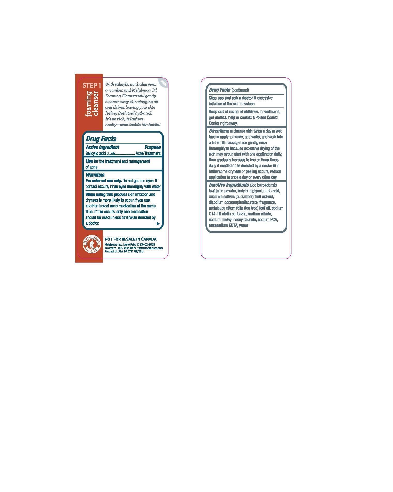 Clarity Clear Skin Essentials Foaming Cleanser (Salicylic Acid) Liquid [Melaleuca, Inc.]