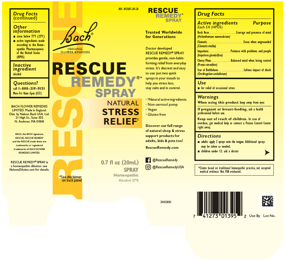 Rescue Remedy (Helianthemum Nummularium Flower, Clematis Vitalba Flower, Impatiens Glandulifera Flower, Prunus Cerasifera Flower, And Ornithogalum Umbellatum) Solution [Nelson Bach Usa, Ltd.]