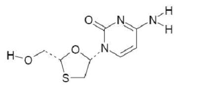 Lamivudine chemical structure