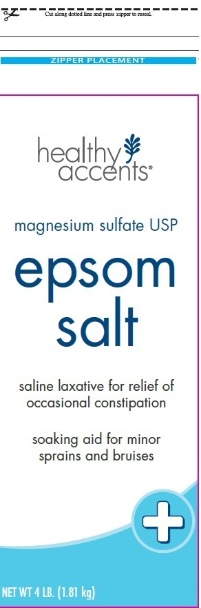 Epsom Salt (Magnesium Sulfate) Granule, For Solution [Dza Brands, Llc]