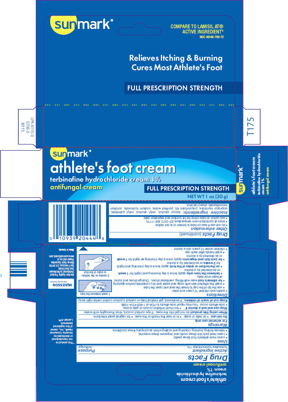 Athletes Foot (Terbinafine Hydrochloride) Cream [Mckesson]